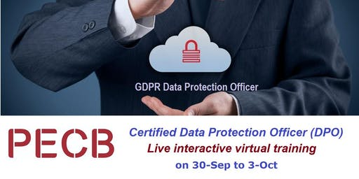 GDPR Data Protection Officer (DPO) Course Live Virtual