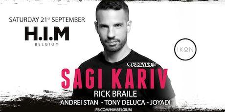 H.I.M invites SAGI KARIV tickets