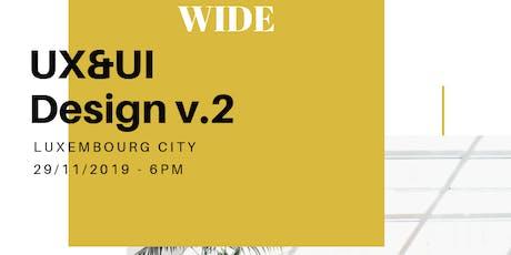 UX&UI Design v.2 tickets