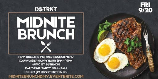 Midnite Brunch- BRUNCH SERVED ALL NIGHT!!