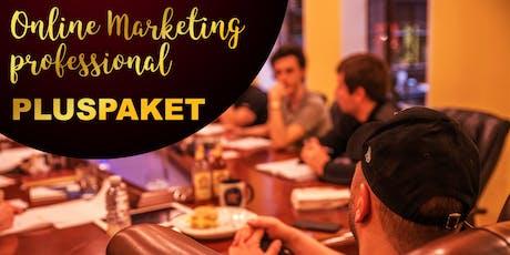 Online Marketing Professional - Bau Deinen eigenen Funnel - PLUSPAKET Tickets