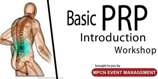 Basic PRP Introduction Workshop (20th) - [THIS IS NOT A FREE EVENT]