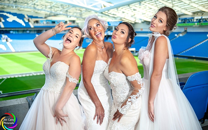 AMEX Stadium Wedding Show image
