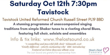 The Lost Sound - Dartmoor folk Choir Tavistock tickets