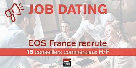 Job dating EOS France billets