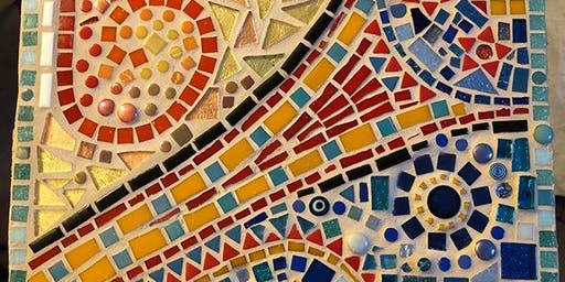 Christmas Mosaic Workshop - Make 'n' take Mosaic in a Day