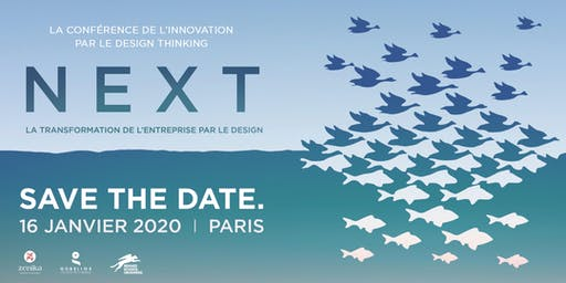 NEXT : la conférence de l'innovation par le design thinking