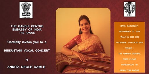 Hindustani Vocal Concert by Ankita Deole Damle