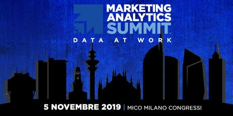 Marketing Analytics Summit 2019 biglietti
