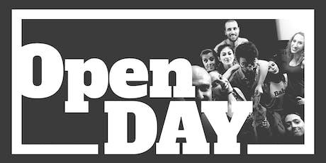 Open Day teatranti biglietti