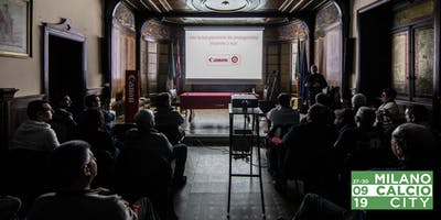 Workshop Fotografia Sportiva 18+ a cura di Canon Academy e MilanoCalcioCity