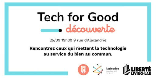 Data for Good x Latitudes | Découverte de la Tech for Good