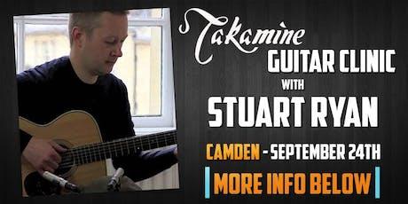Stuart Ryan Takamine Masterclass tickets