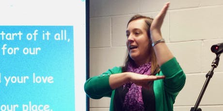Makaton Training Day with Christian faith signs tickets