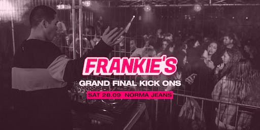 Frankie's Grand Final Kick Ons