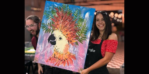 Cheeky Cockatoo Paint and Sip Brisbane 7.12.19