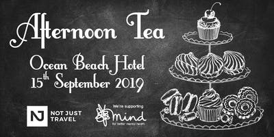 Afternoon Tea at the Ocean Beach