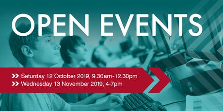 Farnham College Open Events tickets