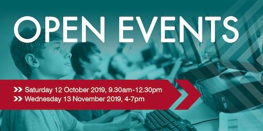 Farnham College Open Events
