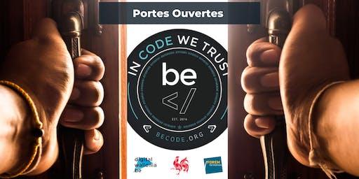 Portes Ouvertes - BeCode Charleroi