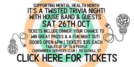 Trivia for Mental Health Month - Canowindra tickets