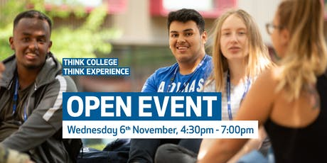 Waltham Forest College Open Event, November 2019 tickets