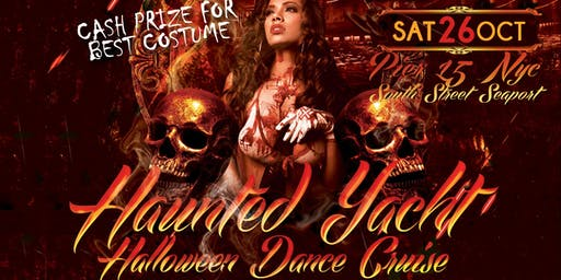 The Haunted Yacht NYC Halloween Dance Cruise Hornblower Serenity Yacht