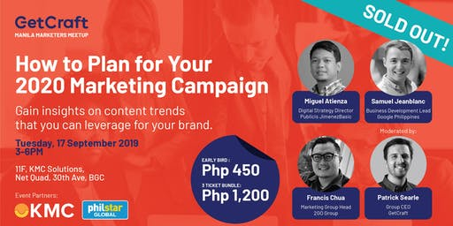 How to Plan For Your 2020 Marketing Campaign