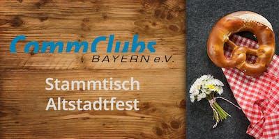 Altstadtfest Stammtisch des CommClubs Metropolregion Nürnberg 2019