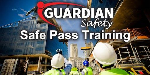 Safe Pass Training Course Dublin Tuesday 17th September