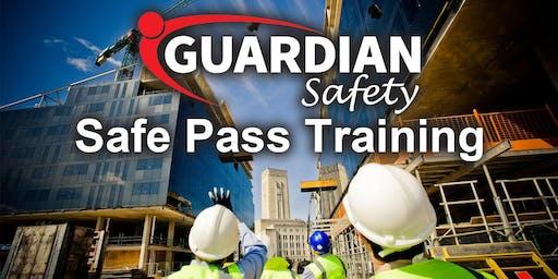 Safe Pass Training Course Dublin Thursday 19th September