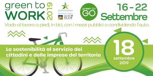 Convegno Green To Work 2019