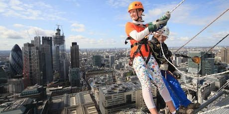 Maggie's Broadgate Abseil 2020 - register your interest tickets