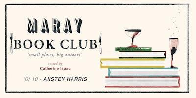 Maray Book Club presents: Anstey Harris