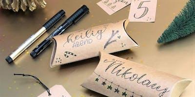 Handgeletterte Geschenkverpackungen | Workshop
