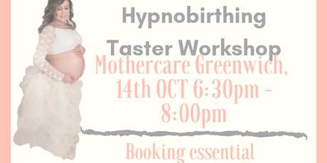 FREE Hypnobirthing Taster Workshop - Greenwich tickets