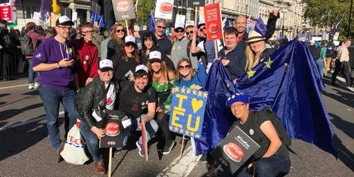 Tech For UK at the 'Let Us Be Heard' march