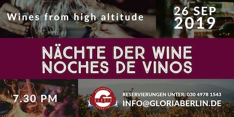 Nächte der Weine / Noches de Vinos tickets