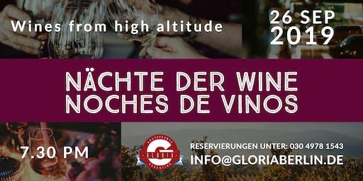 Nächte der Weine / Noches de Vinos
