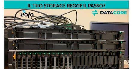 Il tuo storage regge il passo?  biglietti