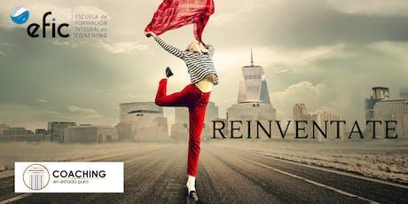 ¡¡Reinvéntate!! Coaching  para tu reinvención profesional y personal. entradas