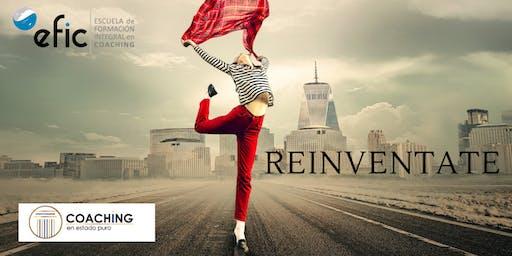 ¡¡Reinvéntate!! Coaching  para tu reinvención profesional y personal.