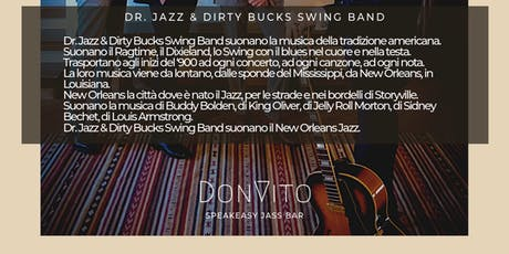 Dr. Jazz & Dirty Bucks Swing Band al DonVito Jass Club biglietti