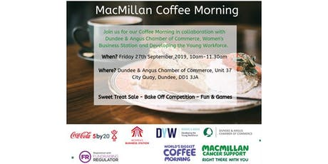 DACC/5by20/DYW Coffee Morning for Macmillan tickets