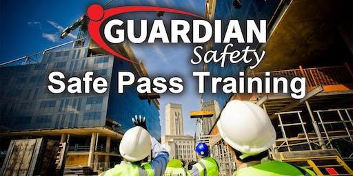 Safe Pass Training Course Dublin Thursday 3rd October