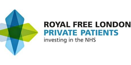GP Education event Royal Free Hospital - Coronary Artery Disease (CAD) tickets