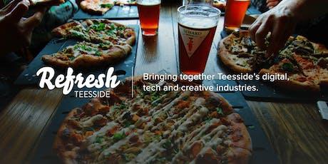 Refresh Teesside - September meetup tickets