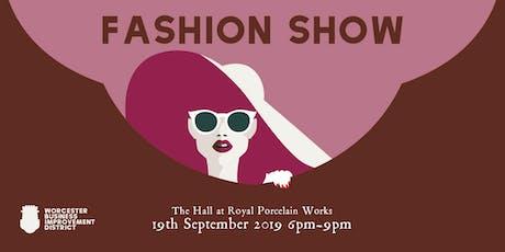 Worcester Fashion Show tickets