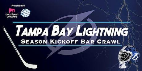 Tampa Bay Lightning Season Kickoff Bar Crawl tickets