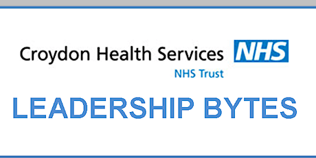 Technology in today's NHS - CROYDON HEALTH SERVICES/CCG STAFF tickets